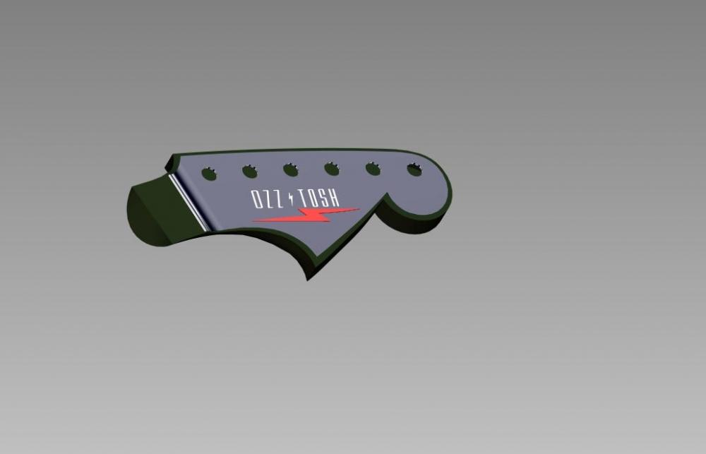 LUMA Headstock w Plate H
