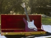 OzzTosh LUMA Red Guitar