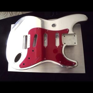 OzzTosh Pickguard Red Clearcoat